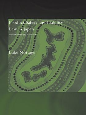 Product Safety and Liability Law in Japan PDF