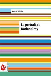 Le portrait de Dorian Gray (low cost). Édition limitée