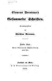 Clemens Brentano's Gesammelte Schriften: Band 5