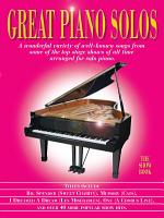 Great Piano Solos  The Show Book PDF