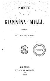 Poesie di Giannina Milli