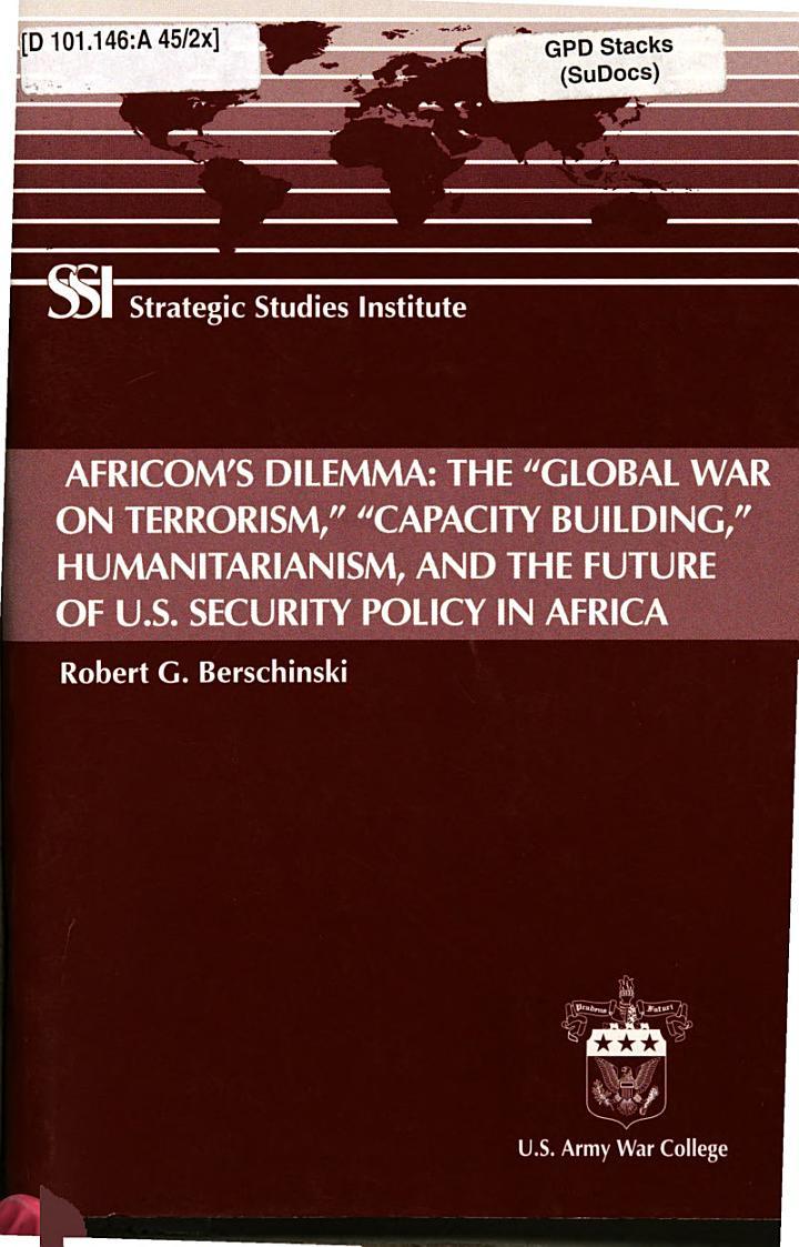 AFRICOM's Dilemma