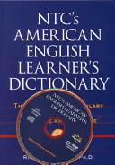 NTC s American English Learner s Dictionary PDF