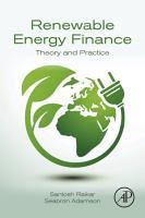 Renewable Energy Finance PDF