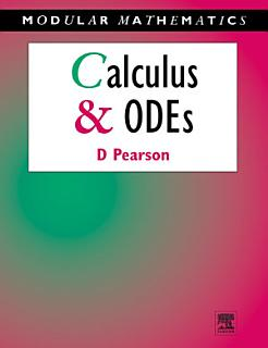 Calculus and Ordinary Differential Equations Book