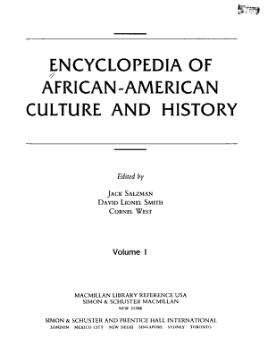 Encyclopedia of African American Culture and History PDF