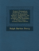 Present Philosophical Tendencies