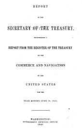 Commerce and Navigation of the United States