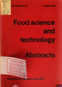Food Science and Technology Abstracts PDF