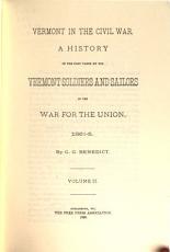 Vermont in the Civil War PDF