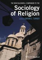 The New Blackwell Companion to the Sociology of Religion PDF