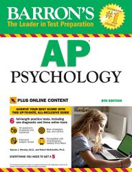 Barron's AP Psychology, 8th edition with Bonus Online Tests