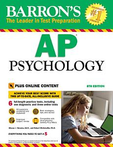 Barron s AP Psychology  8th edition with Bonus Online Tests Book