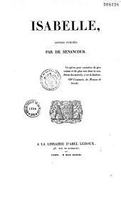 Isabelle, lettres publiées par de Sénancour...