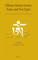 Tibetan Literary Genres  Texts  and Text Types PDF