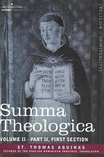 Summa Theologica, Volume 2 (Part II, First Section)