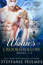 Wolves of Crookshollow Collection: 4 paranormal romance novels