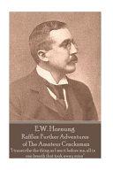 E  W  Hornung   Raffles PDF