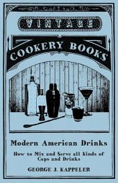 Modern American Drinks - How to Mix and Serve all Kinds of Cups and Drinks