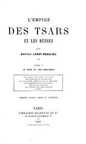 L'empire des tsars et les Russes: Le pays et les habitants