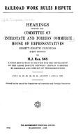 Railroad Work Rules Dispute PDF