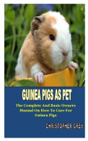 Guinea Pigs as Pet PDF