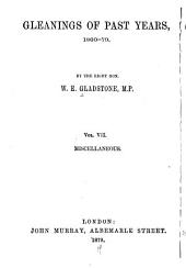 Gleanings of Past Years, 1843-78: Volume 7
