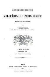 Streffleurs militärische Zeitschrift: Band 2;Bände 4-5
