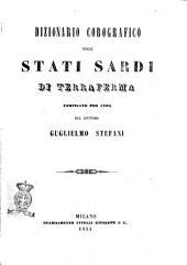 Dizionario Corografico degli Stati Sardi di Terraferma