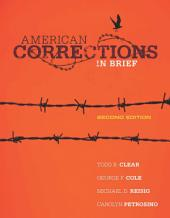 American Corrections in Brief: Edition 2