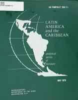 Latin America and the Caribbean PDF