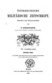 Streffleurs militärische Zeitschrift: Band 2;Band 6
