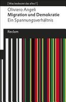 Migration und Demokratie PDF