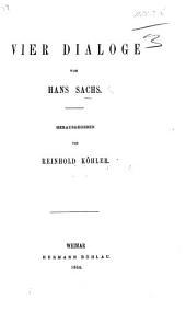 Vier Dialoge ... Herausgegeben von R. Köhler