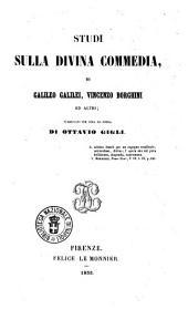 Studi sulla Divina Commedia di Galileo Galilei, Vincenzo Borghini ed altri