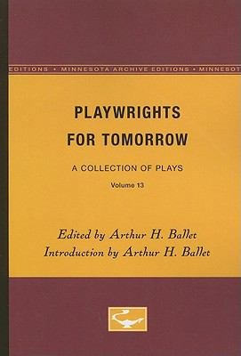 Playwrights for Tomorrow PDF