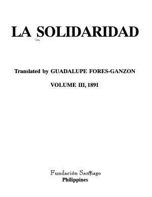 La Solidaridad PDF