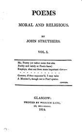 Poems, moral and religious: Volume 2