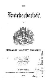 The Knickerbocker: Or, New-York Monthly Magazine, Volume 16