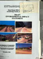 Kittanning By-pass/ PA-6028, Allegheny Valley Expressway to Traffic Route 28/66, Armstrong County