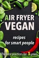 Air Fryer Vegan Book PDF