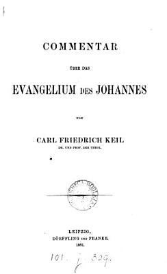 Commentar   ber das Evangelium des Johannes PDF