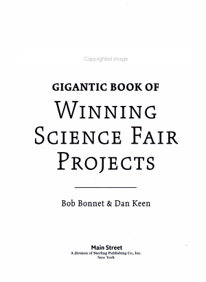 Gigantic Book of Winning Science Fair Projects PDF