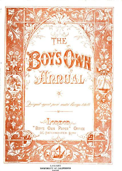 Download The Boy s Own Annual Book