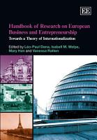 Handbook of Research on European Business and Entrepreneurship PDF