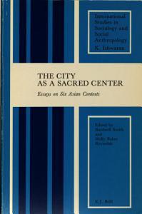 The City As a Sacred Center Book