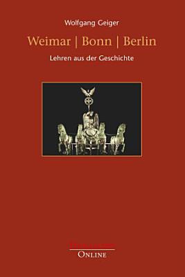 Weimar   Bonn   Berlin PDF