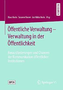 ffentliche Verwaltung   Verwaltung in der   ffentlichkeit PDF