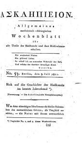 Askläpieion. Allgemeines medicinisch-chirurgisches Wochenblatt. Hrsg. von K. Wolfart: Band 3