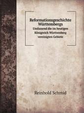 Reformationsgeschichte W?rttembergs